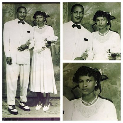 My lovely grandparents, Miriam and Cleveland. Picture taken in Panama on their wedding day.